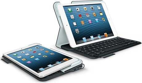 Logitech Ultrathin Keyboard Folio, Carbon Black [für Apple iPad mini 1/2/3]