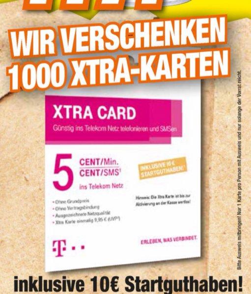 [Lokal BaWü] HEM Expert verschenkt in jeder Filiale 1000 Xtra Cards mit 10€ Startguthaben
