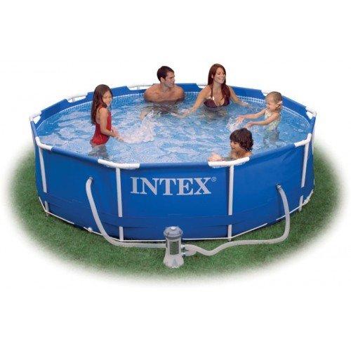 [baumarkteu.de] INTEX Frame Pool Set Rondo 457 x 122 cm + Kartuschenfilteranlage für 312€