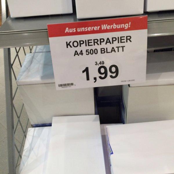 [Lokal Olb Famila] Kopierpapier 1,99€ 500 Blatt