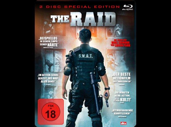 (mediamarkt.de) The Raid (Steelbook) [Blu-ray] [Special Edition] für 7,99€ + 4,99€ VSK