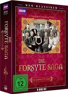 Die Forsyte Saga (komplette Serie, Original-BBC-Ausstrahlung, 8 DVD´s) für 25,97 €, @Amazon prime