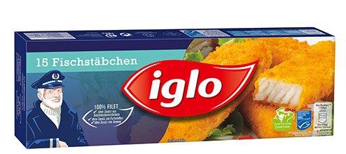 Kaufland - Käpt´n Iglo Fischstäbchen - 15 St. = 450-g-Packg. für 1,59 Euro (=37% billiger), ab 20. 8. 2015