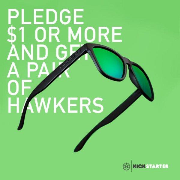 [kickstarter] HAWKERS Polarized Sunglasses - ab 1€ + Versand