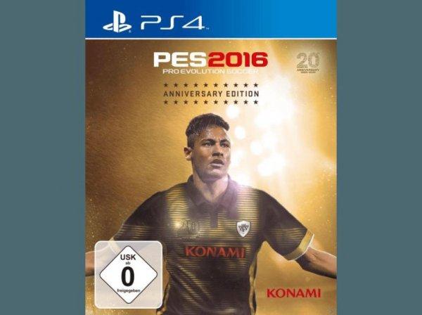 [redcoon] Nur für echte PES-Fans: Pro Evolution Soccer 2016 Anniversary Edition PS4 für 57,98€, Schnapper bei Zahlung mit Klarna 47,98€