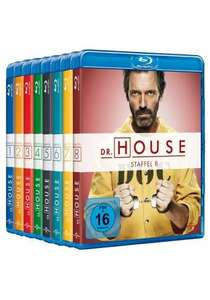 [MediaDealer Tagesangebot] Dr. House 1-8 Collection (Blu-ray)-39 Discs***Komplett Deutsch** für 69,96€ inc. Versand