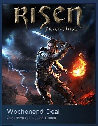 [PC] [Steam] [Download] Risen Franchise (1,2,3 + diverse DLCs)