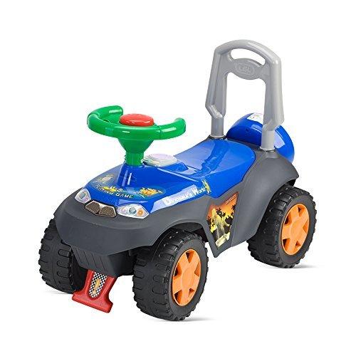 [Amazon-Prime] Chipolino CHIPROCJD00010B - Dinosaurier Kinderauto Ride On, blau / Ferrari