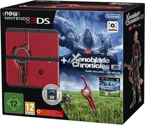 [Saturn] Nintendo New 3DS Xenoblade Chronicles 3D Bundle für 184€ versandkostenfrei