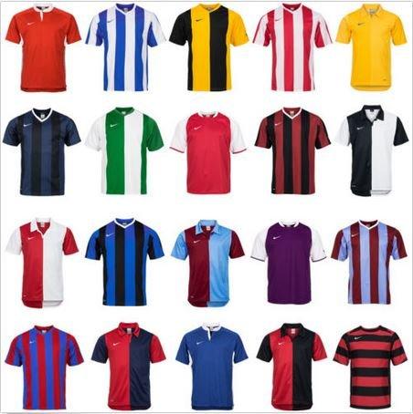 Nike Kinder + Herren Kurzarm + Langarm Sport Trikot Fußball Shirt Jersey Fitness - 9,99€