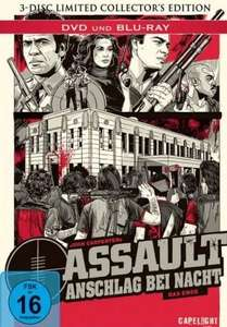 [MediaDealer] Assault - Anschlag bei Nacht - Limited Collectorx27s Edition (Blu-ray) Mediabook 12,97 + 1,99 Euro Porto