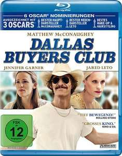 [Amazon Prime] Dallas Buyers Club Blu-Ray ab 6,99€
