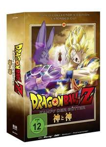 Dragonball Z-the Movie: Kampf der Götter - (Blu-ray + DVD) LIMITED COLLECTERS EDITION