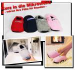Hot Sox Wärme Pantoffel Socken Hausschuhe Gr. 36 - 45