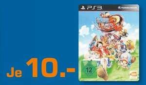 [Lokal Essen / Oberhausen / Mülheim a.d.R.] One Piece Unlimited World Red PS3 für 10€ Gamestop 9.99er
