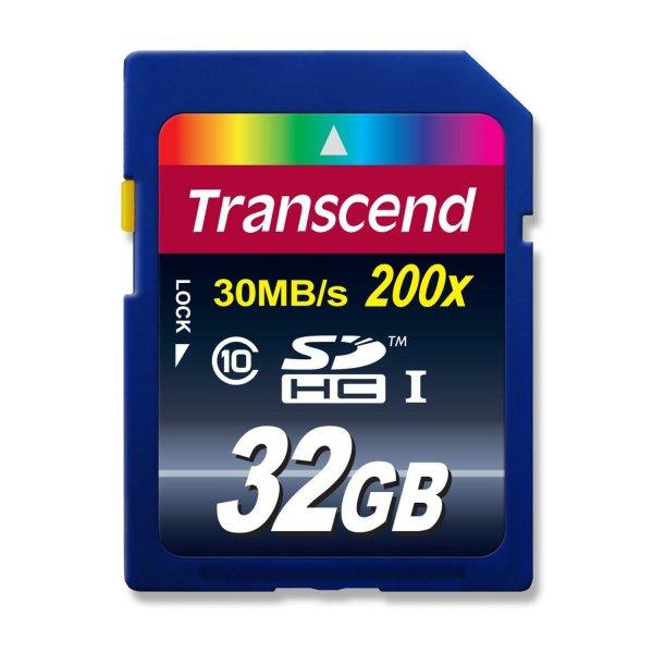 Transcend SDHC 32GB Transcend Extreme Speed Class 10 Speicherkarte für 11,95€