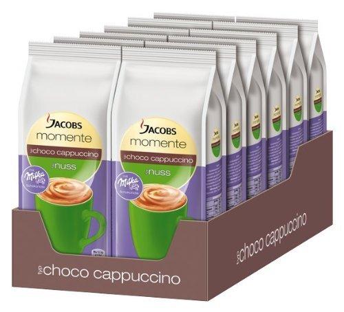 Jacobs Choco Nuss Cappuccino mit Milka, 12er Pack (12 x 500 g) für 33,60 € @ Amazon
