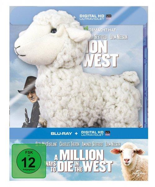 A Million Ways to Die in the West (inkl. Digital Ultraviolet) (exklusiv bei Amazon.de) [Blu-ray] + Plüschtier für 17,97 € > Prime