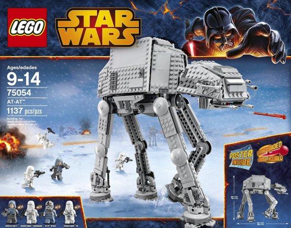 [INTERSPAR Österreich OFFLINE] - 20% auf LEGO - AT-AT von Lego für nur 75 Euro