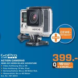 [lokal Saturn Rhein-Sieg] GoPro HERO4 Black Adventure