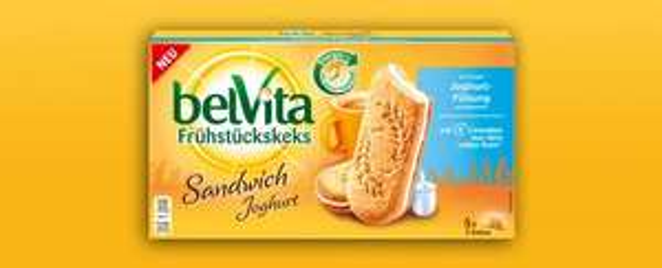 [THOMAS PHILIPPS] Belvita Frühstückskeks Sandwich Joghurt