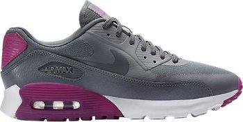 Nike Air Max 90 Ultra Essential grau fuchsia Damen Schuhe Sneaker, 101,49 EUR @ nike