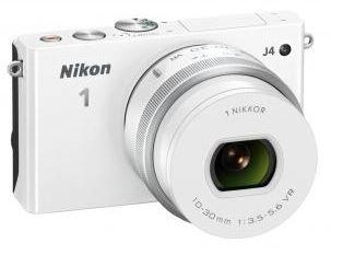 Nikon 1 J4 KIT weiss (Systemkamera, 18,4 MP) bei Redcoon