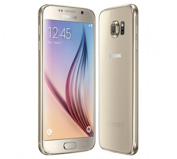 Samsung Galaxy S6 Gold/Schwarz/Weiss 32 GB Neu OVP kein Branding