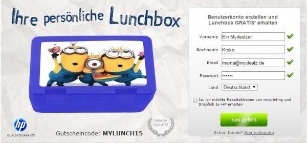 [myprinting] Lunchbox mit eigenem Motiv für 4,99€