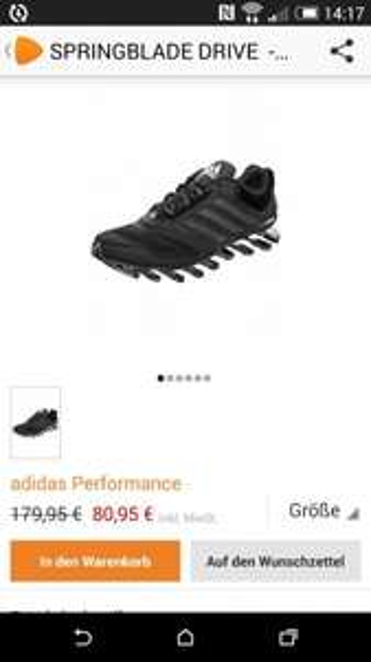 Adidas Springblade 2 Drive 80,95€