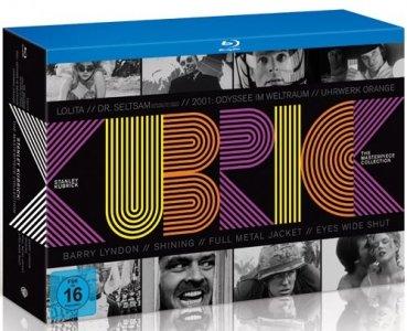 [Blu-ray] Stanley Kubrick: The Masterpiece Collection (8 Filme + Fotobuch) @ Alphamovies