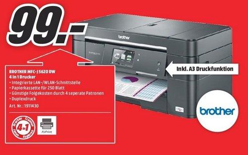 [Lokal MM Essen + Dortmund] Brother MFC-J5620DW  Multifunktionsgerät - A3 A4 Drucker Scanner Kopierer Fax + 3 Jahre Garantie
