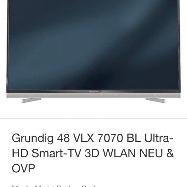 [Ebay Media Markt] 48 Zoll 4k Grundig Smart TV