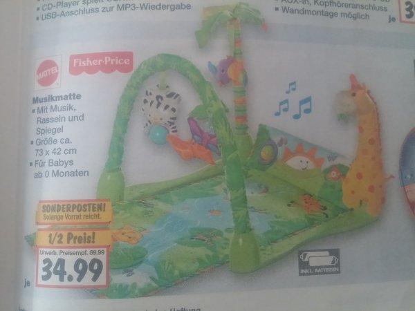 Musikmatte Fisher Price für Babys [Lokal] Kaufland