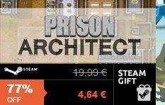 [G2A] Prison Architect für 4,64€