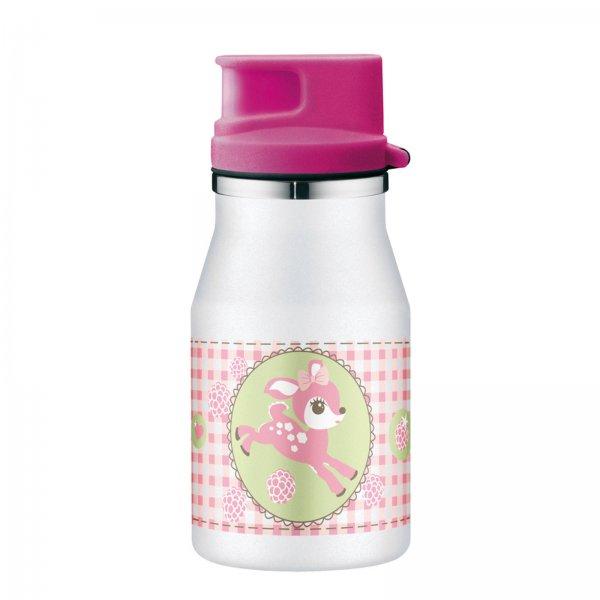 (Mediamarkt online/ Ebay) ALFI Kindertrinkflasche 350ml auch für kohlensäurehaltigen Getränken. Zwei Motive zur Auswahl 6,74€ + VSK-frei.