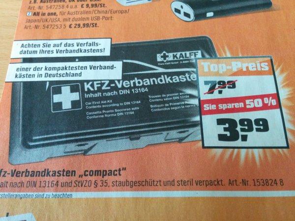 OBI(Ludwigshafen) KFZ Verbandkasten ab 24.8