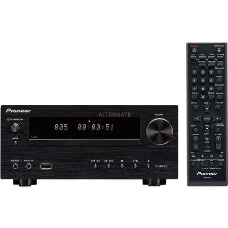 [ZackZack] Pioneer XC-HM51-K, Kompaktanlage schwarz/hochglanzschwarz, CD, Radio, BT, USB, ohne Lautsprecher für 119,90€ Versandkostenfrei