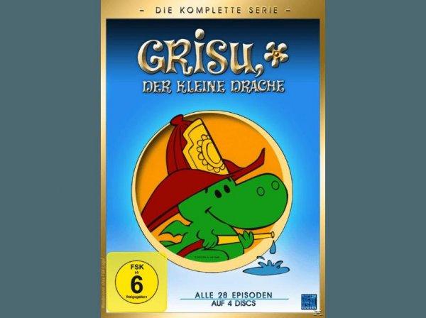 [Saturn] Grisu der kleine Drache (Gesamtbox) - (DVD) für 10,99€ Versandkostenfrei