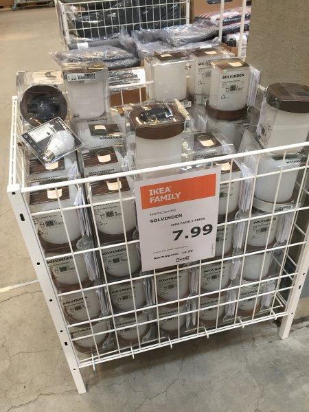(LOKAL) 7,99 € statt 14,99 € mit IKEA-Family Card LED Solarleuchte SOLVINDEN = 47% im Ikea Köln Butzweiler Hof