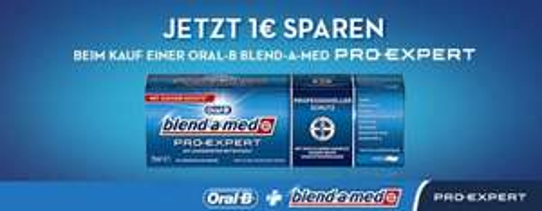 [Marktkauf][COUPIES] blend-a-med Pro Expert Zahncreme für 0,99€