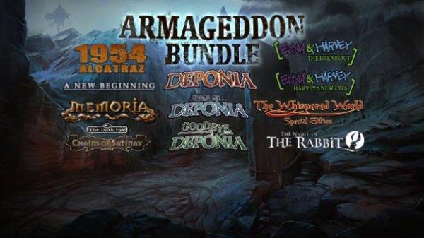 [steam] Daedalic Armageddon Bundle - 11 Adventures für 12.80€ @ gmg