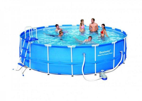 Bestway Frame Pool 549 x 122 cm Komplett-Set für 349 € statt 444 €, @d-living