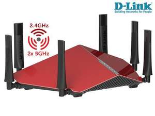WLAN MONSTER: D-Link AC 3200 DIR-890L Triband Cloud Router 205,90 bei Ibood.de