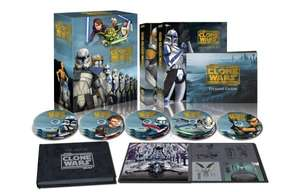 Star Wars: The Clone Wars 1-5 Bluray @ amazon