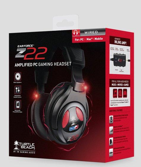 Turtle Beach / Ear Force Z22 / PC - MAC / Major League Gaming Headset / @Proshop.de