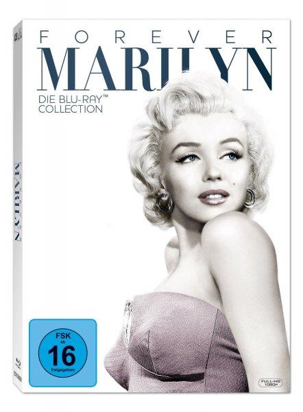 Marilyn Monroe - Forever Marilyn - Die Blu-ray Kollektion (7 Disc) @Amazon.de