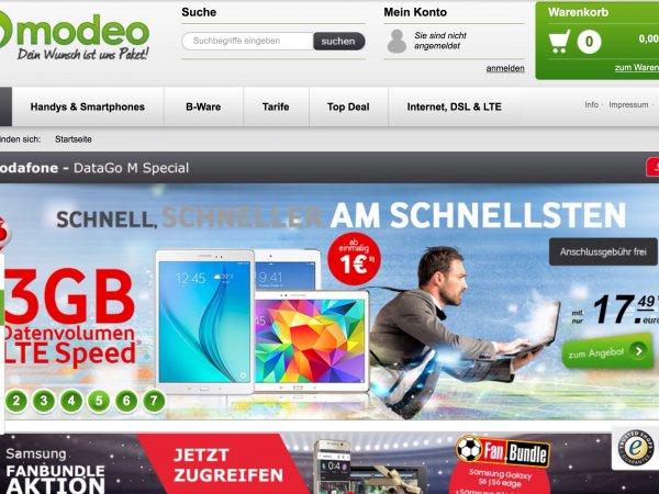 Apple IPad Air 2, 16 GB LTE mit Vodafone DataGo M / 3 GB bis 50 Mbits LTE für 17,49 monatlich, 179 einmalig fürs IPad o. altern. 300 € Auszahlung