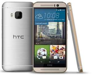HTC One M9 Gold on Silver Vorführware @Notebooksbilliger
