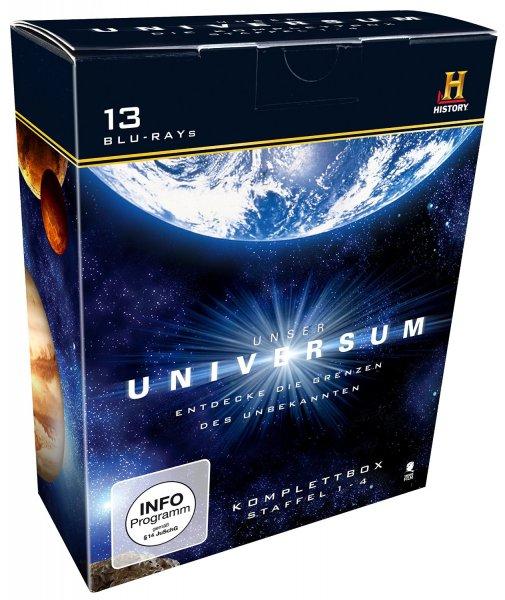 [Amazon-Prime] Unser Universum - Die Komplettbox, Staffel 1-4 (History) [Blu-ray] [DVD]